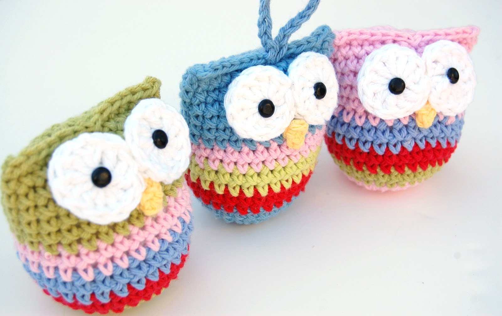 Free Crochet Pattern Small Owl : ????????? ???????